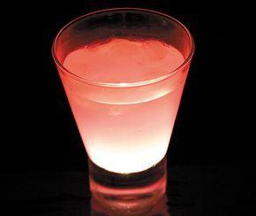 Un déicieux cocktail parfumé à la liqueur de litchi....