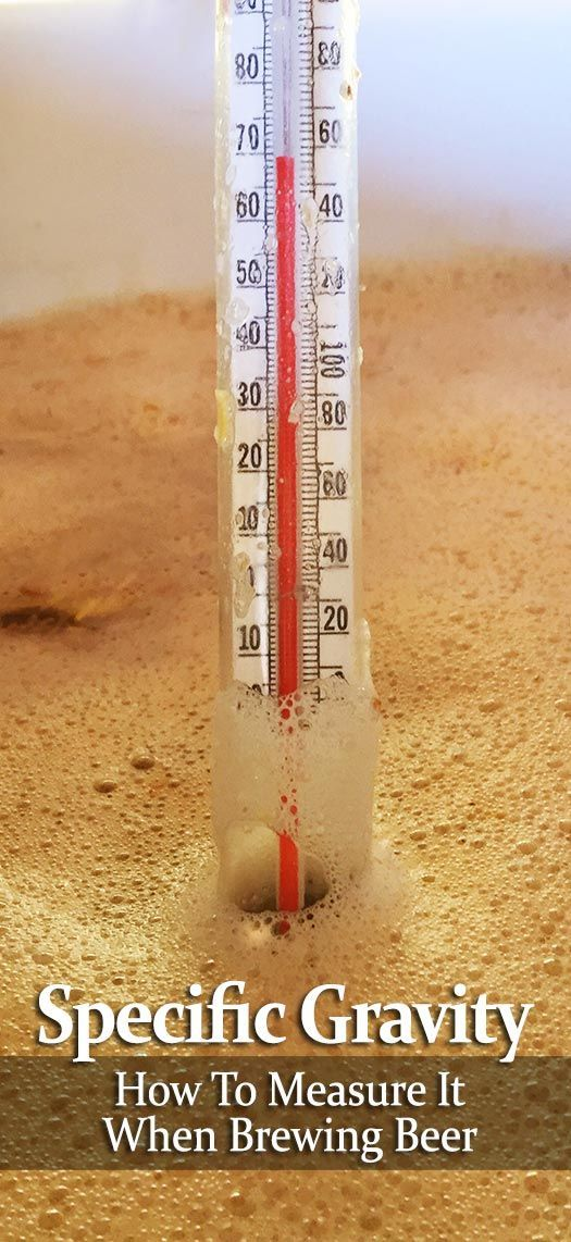 How to Measure Specific Gravity When Brewing Beer