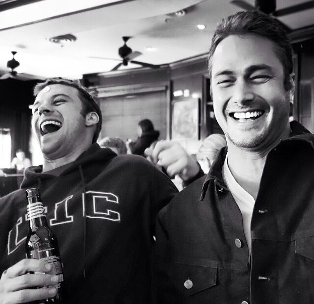 Jesse Spencer and Taylor Kinney