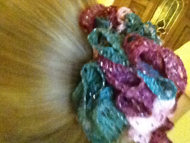 Sashay yarn hair bow maybe in my spare time pinterest