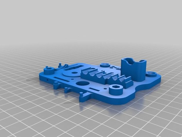 This is Smart Tool Holder for Creality Ender-3 3D Printer  It can be