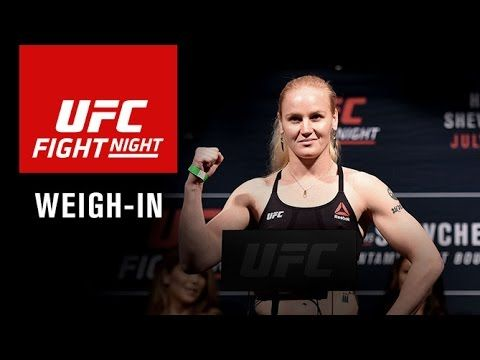 UFC (Ultimate Fighting Championship): UFC Fight Night Denver: Official Weigh-in