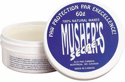 Musher's Secret Paw Pad Protection Wax | Mushers All Natural Dog Paw Pad Protection