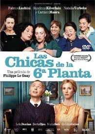 Las chicas de la 6ª planta (2010) Francia. Dir.: Philippe Le Guay. Comedia. Anos 60. Migración -- DVD CINE 2366