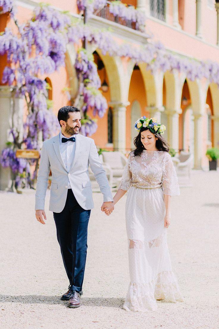 Wedding in Villa Le Fontanelle, Tuscany