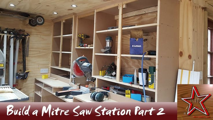 How to: Build a Floating Mitre Saw Station with Mega Storage PART 2