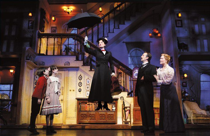 mary poppins set | Mary Poppins on Broadway Review