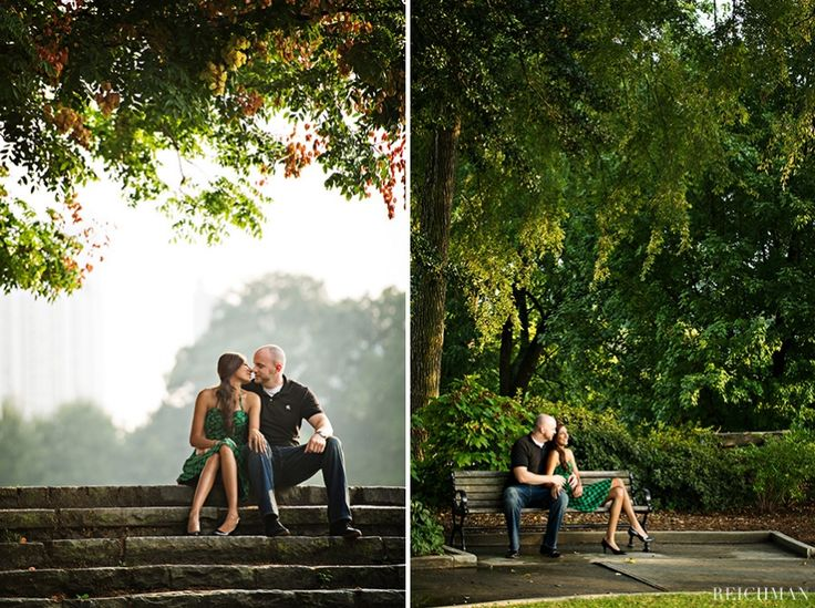 piedmont park atlanta weddings | Sneha and Duncan – Piedmont Park Engagement Session