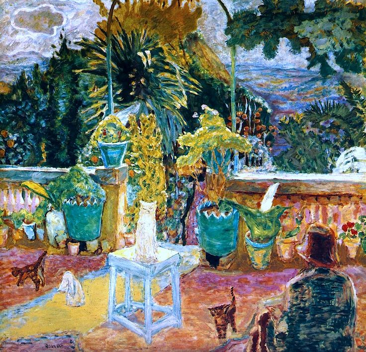 La Terrasse de Grasse - Pierre Bonnard - 1912 .....................#GT
