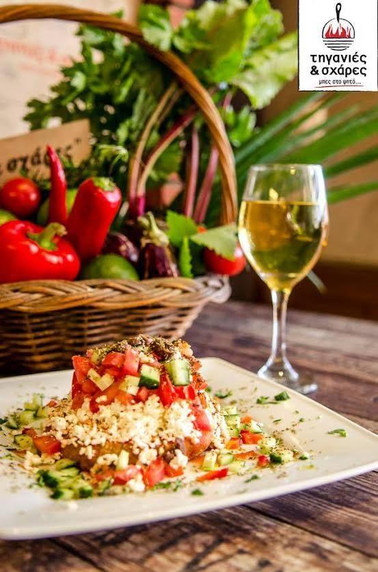 Ο Κρητικός ντάκος αποκαλύπτεται... Απολαύστε τον!  http://goo.gl/b9aoq2  #Τηγανιές& #Σχάρες #Ψητοπωλείο #Θεσσαλονίκη#Delivery #online