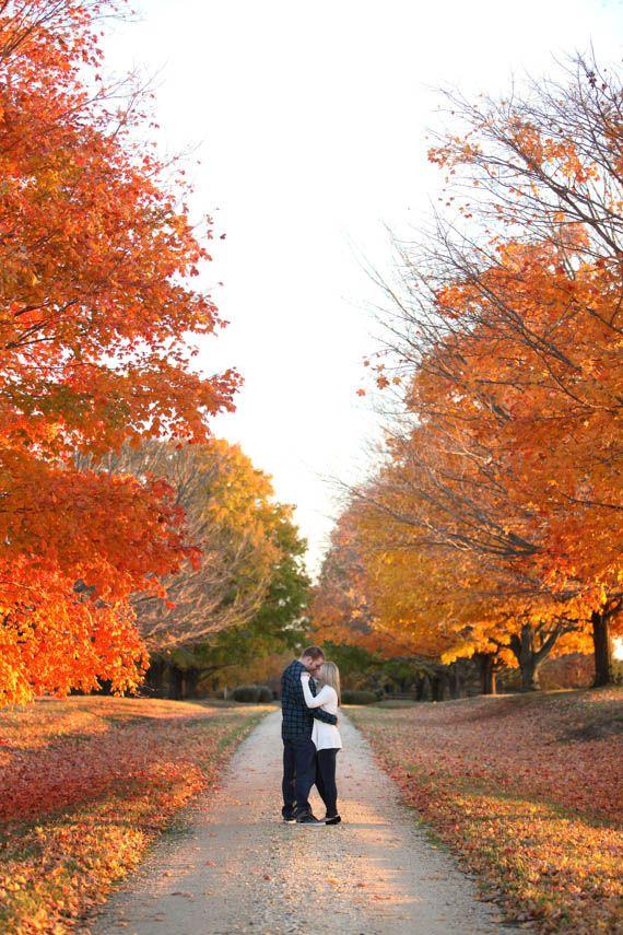Our Fall Engagement Photo Session |  Megan Beth Photography www.meganbeth.com
