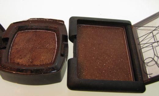 Dupes I: NARS Galapagos- NYX eyeshadows (Crease)