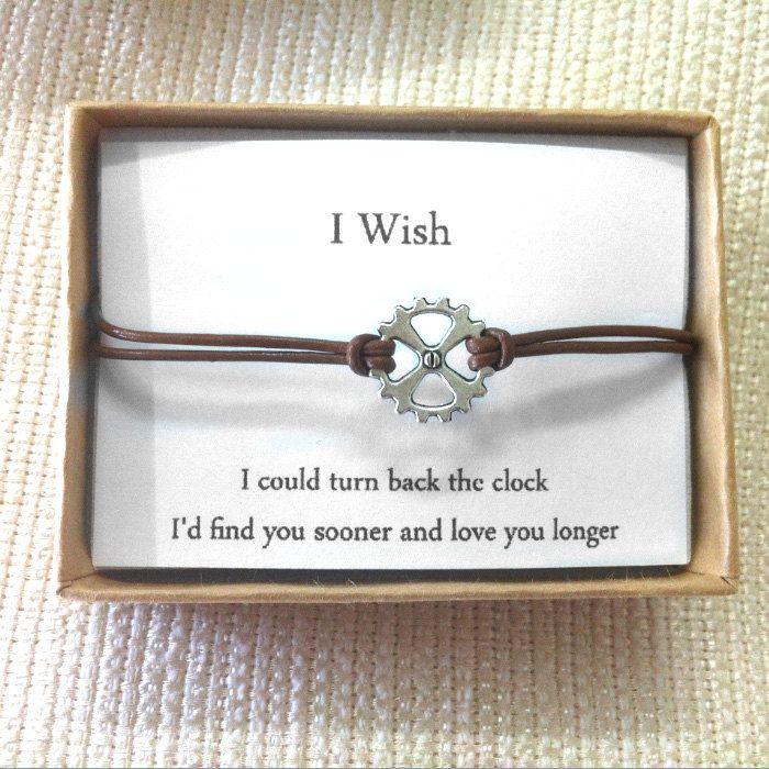Couples Bracelets ,Gear Bracelets, Matching Bracelets,  His Her Bracelet, Leather Jewelry,Lovers Gift,Unisex,Couples Gift,Set of 2 Bracelets by ShirleyLaiterDesigns on Etsy