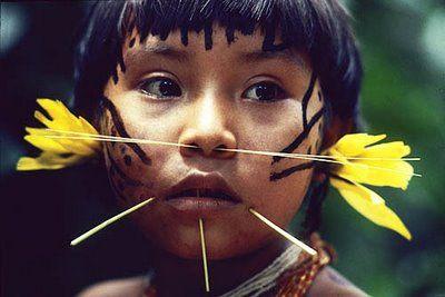 Maquillaje indígena