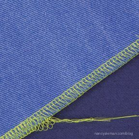 Sewing With Nancy Zieman How to use a serger. Beginner serging techniques