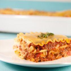 lazy lasagna (low fat)