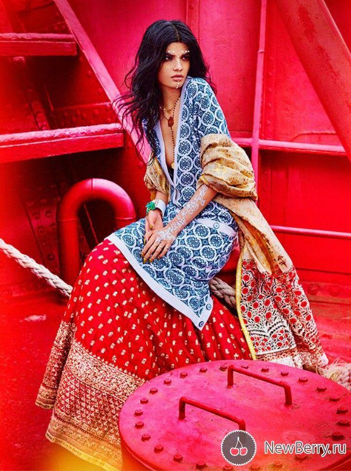 Bhumika Arora для журнала Vogue India