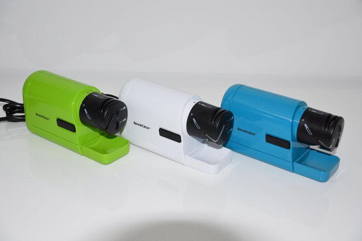 Elektrischer Allesschärfer SEAS 20 B1 in 3 Farben: grün, türkis und weiß - Messer schärfen elektrisch - Schleifstein elektrisch Der  elektrischer Schärfer für den Gebrauch im Haushalt  von Silvercrest ist ein Multitalent und in... #messer #scharf# #schärfen #küche #küchenhelfer #schleifen #scheren #schraubendreher #allesschärfer #elektrisch