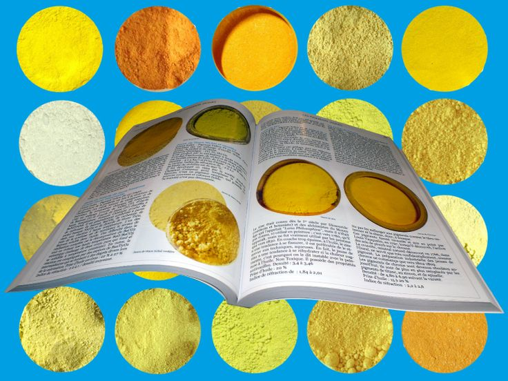 Yellow Pigments Presentation by David Damour