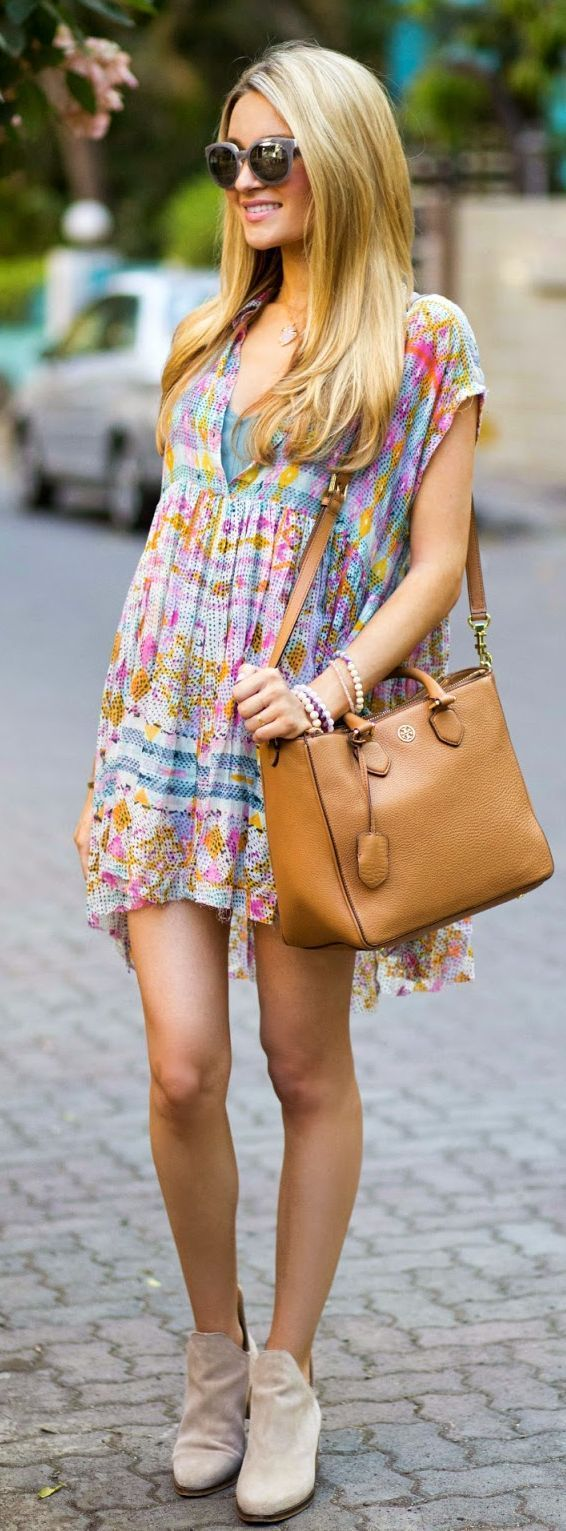 Little Printed Dress | Everyday Festival - Chic Summer Outfits