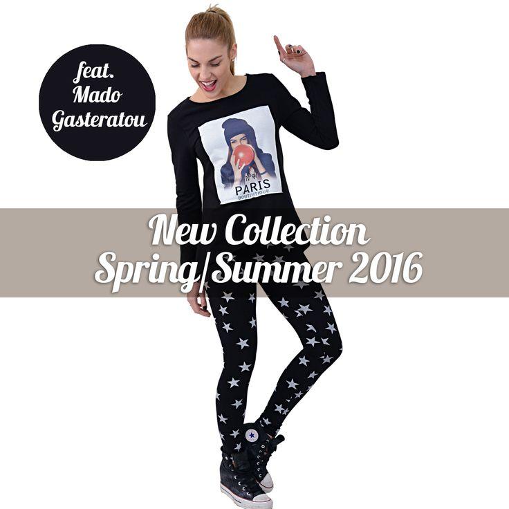 New Collection Spring/Summer 2016 feat.Mado Gasteratou!