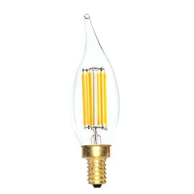 EdisonMills E12 LED Vintage Filament Light Bulb Wattage: