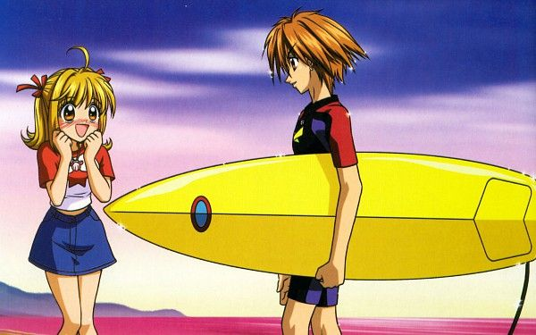 Tags: Anime, Mermaid Melody Pichi Pichi Pitch, Nanami Lucia, Doumoto Kaito, Official Art