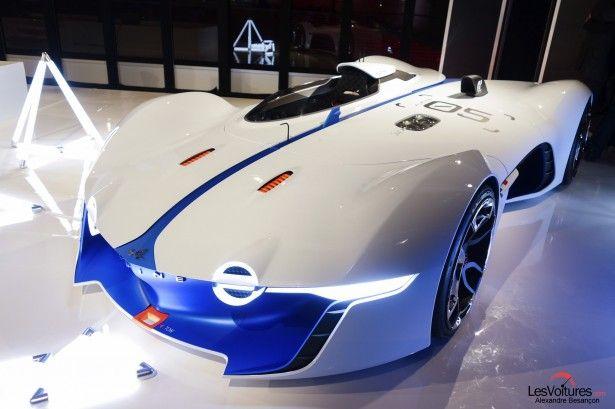 Cars - Renault Alpine Vision Gran Turismo : les premières photos en exclusivité ! - http://lesvoitures.fr/renault-alpine-vision-gran-turismo/
