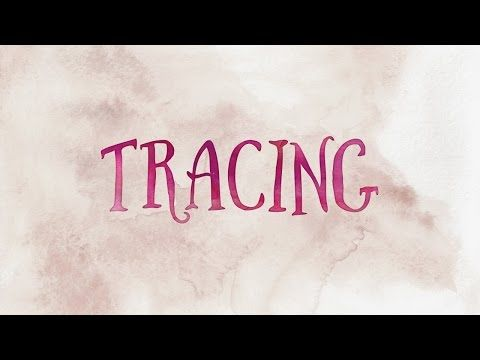 Adobe Illustrator CC - Image Tracing Your Typography - YouTube