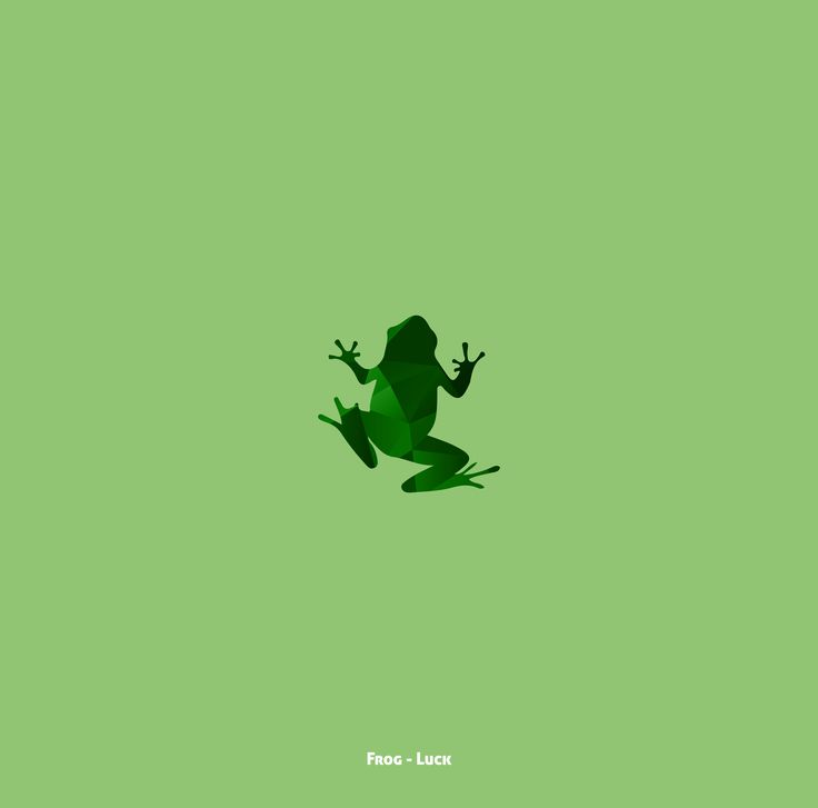Small watercolour type frog, like the idea