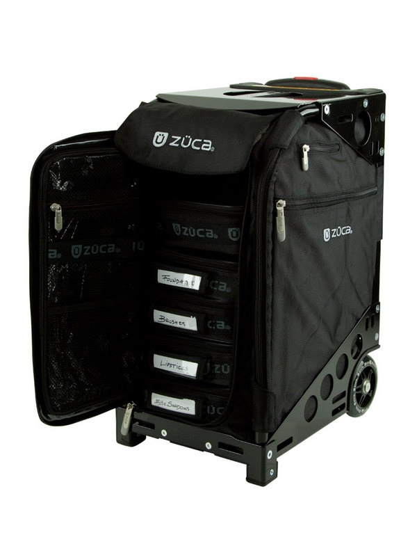 Zuca: Pro Artist Black/Black: $305.00    For carrying makeup to freelance gigs.