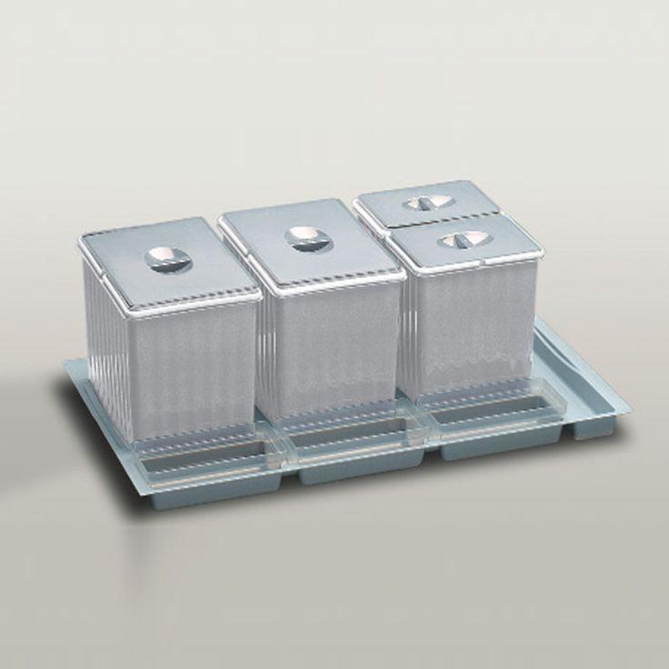 Cubo basura reciclaje I Cajon 60 cms