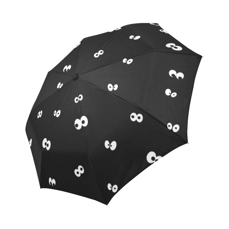 Eyes in the Dark Auto-Foldable Umbrella