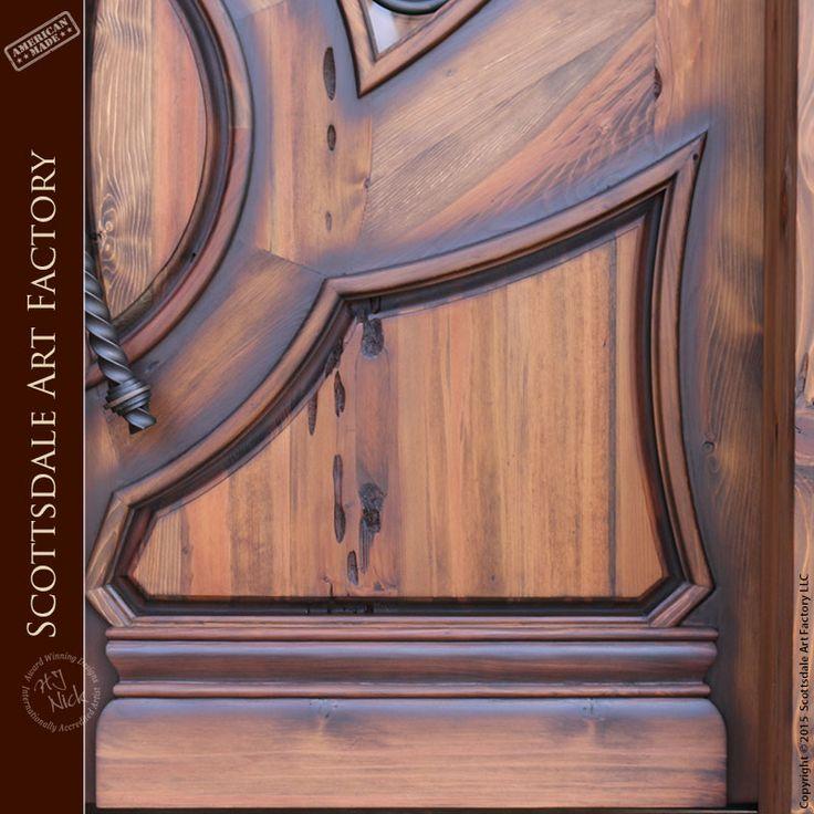 French Door Full Arch by H J Nick - Custom Wood Doors - HRD997