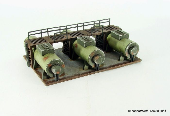 Impudent Mortal's 28mm & 15mm Industrial Tabletop Terrain by Walt Langhans — Kickstarter