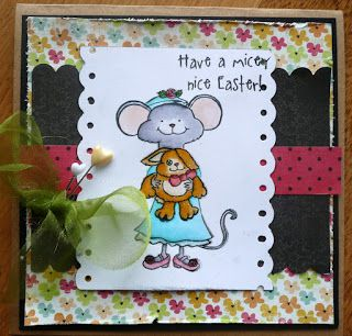 Wild About Scrap Design Team: Easter Card Creation Easter Millie Stamps