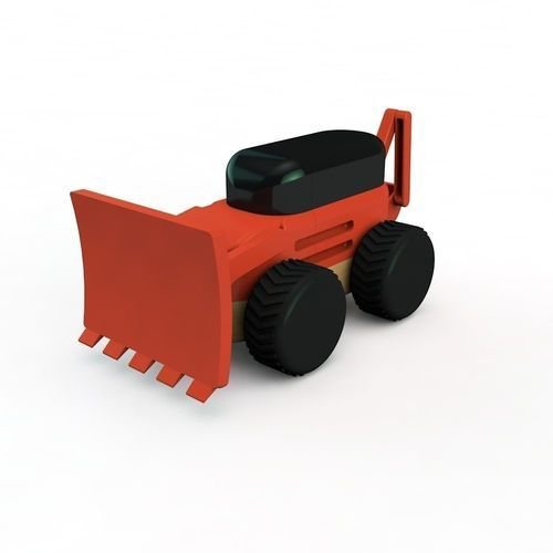 Backhoe | 3D Print Model cherry picker 3d model modular moby cnc
