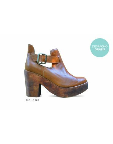 Botín Adele Camel | Chilean handmade shoes