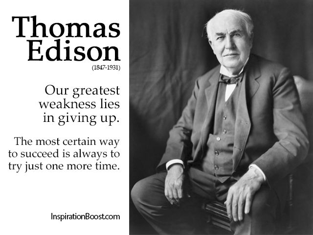 22 Of The Most Powerful Quotes Of Our Time: Best 25+ Thomas Edison Quotes Ideas On Pinterest