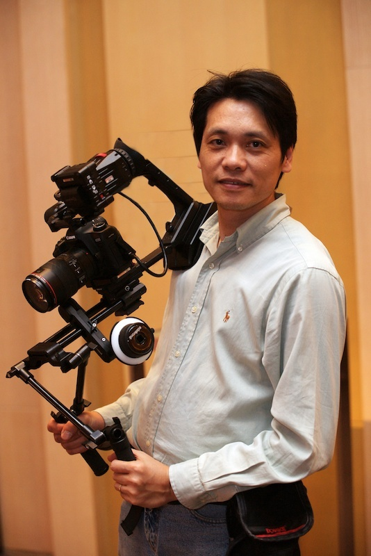 "Rick Wong ""Here is my Modula 9 picture. I am so happy to use it all the time!!!!!"" http://www.edelkrone.com/edelkrone-in-the-world/"