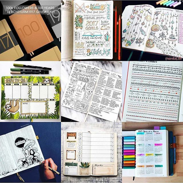 Wow! What an extraordinary year of planning.  Happy new year to all my planning friends. .  Be sure to check the link in my bio to get my super handy tips on starting the the new year off right with brilliant bullet journal hacks! . @leuchtturm1917 @jtraf