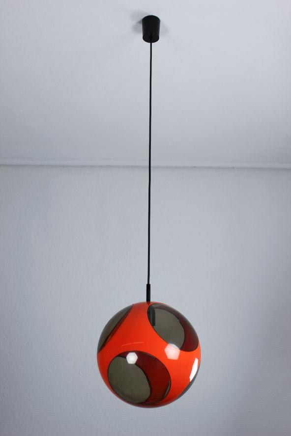 Luigi Colani; Plastic Ceiling Light, c1970.