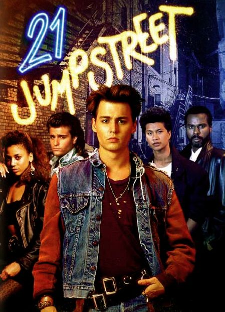 21 Jump Street: 21 Jump Street is a show which features four cops going back to high school undercover in order to keep tabs on crimes. The shows shows the interaction of high school students and their new passion for drugs. 21 Jump Street was a show which furthered the hip hop style and drug awareness.