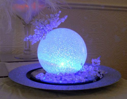 LED Centerpieces balls Set of 12 Led orbs by FashionProposals, $45.00
