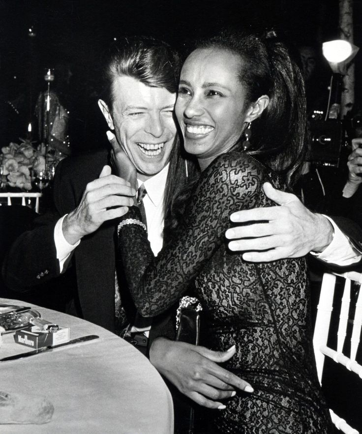 Iman Instagram Inspiration Quotes David Bowie | Iman shared inspirational quotes in the final days of husband David Bowie's life. #refinery29 http://www.refinery29.com/2016/01/100976/iman-tweets-final-david-bowie-days