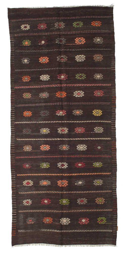 Kelim halvt antikke Tyrkiske teppe XCGZF990