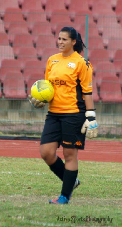 JVW Goalkeeper Alexia Cassar