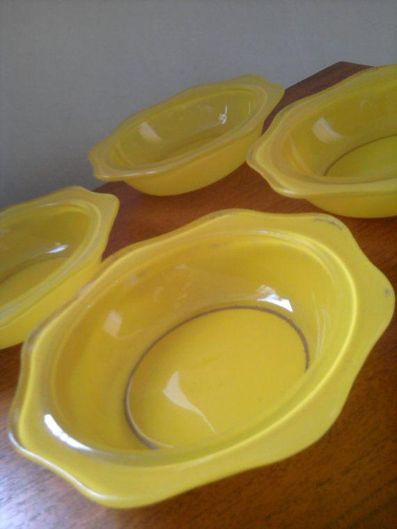 S Phoenix Coloured Glass Mixing Bowls