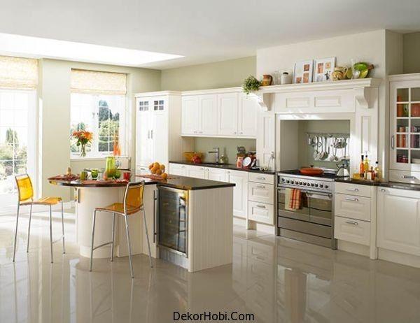 2014 Beyaz Mutfak Modelleri