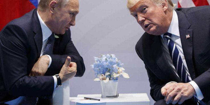 """""""Sensationell"""": Putin und Trump vereinbarten über Stationierung der blauen Helme in der Ukraine"""